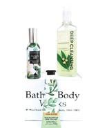 Bath and Body Works Eucalyptus Mint Room Spray, Hand Soap & Hand Cream R... - $23.05