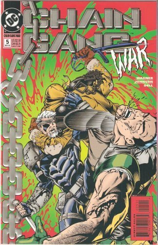 Chain Gang War #5 November 1993 [Comic] [Jan 01, 1993] John Wagner and Dave John