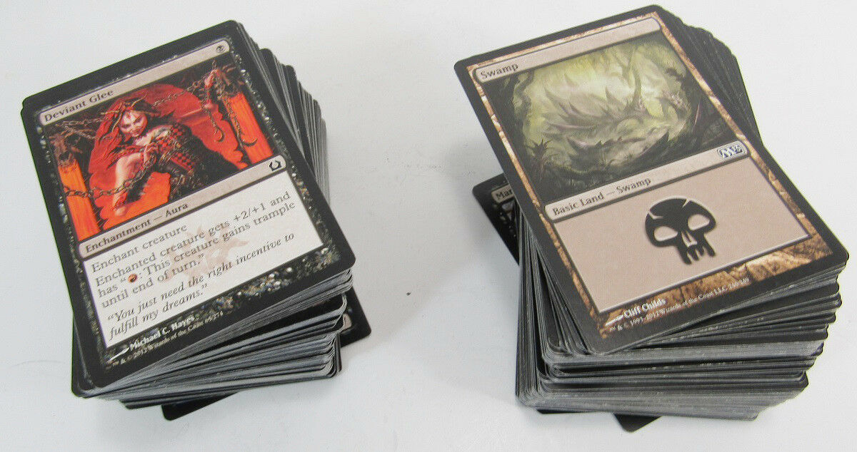 Primary image for Black Border Assorted Playing Cards Lot Magic The Gathering -K6