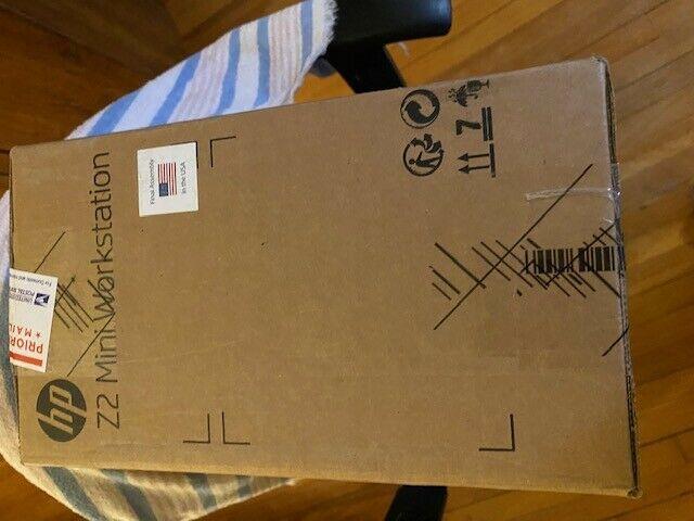 HP Z2 Mini G3 Workstation 3.4 GHz Intel Core i5-7500 Quad RAM 256GB  SSD W10 NEW