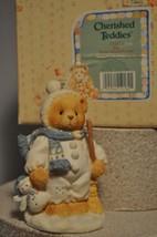 Cherished Teddies - Earl - 131873 - Warm Hearted Friends Dressed as a Sn... - $11.18
