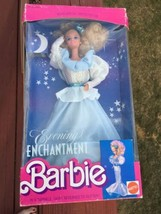 Vintage 1989 EVENING ENCHANTMENT Barbie Doll Mattel TIGHT CURL~NRFB - $24.74
