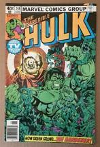 The Incredible Hulk #248 Marvel Comic Book FN Condition 1980 THE GARDENER - $2.69