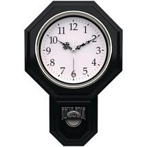 """Timekeeper 180BWAC Essex 18.75"""" Modern Pendulum Wall Clock - $78.60"""