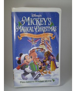 Disney's Mickey's Magical Christmas VHS - $5.00