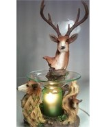 Deer Polyresin Electric Oil or Tart Warmer - $29.95