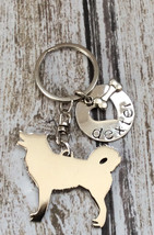 NEW Alaskan Malamute Keychain Aussie Jewelry Dog Lover - $18.00