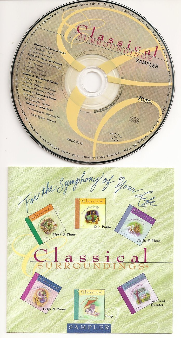 For The Symphony of Your Life Classical CD Sample 1999
