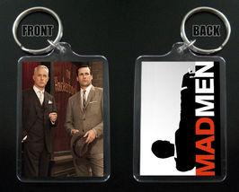 Mad Men Keychain / Keyring  Don Draper Jon Hamm Roger Sterling John Slattery - $7.84
