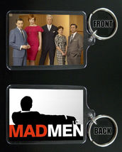 MAD MEN keychain / keyring DON DRAPER Sterling Cooper Draper Price - $7.84