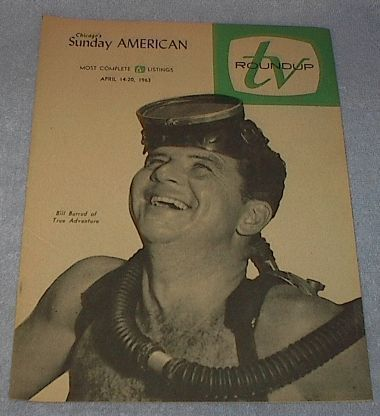 Primary image for Chicago Sunday American TV Roundup Guide Bill Burrud Apr1963