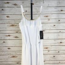 Kids's Marciano Guess White Sleeveless Dress sz 16 - $47.34