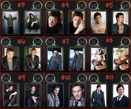 Norman Reedus Keychain / Keyring Daryl Dixon Walking Dead Choose From 9 Designs - $7.84