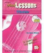 First Lessons Ukulele Book w/CD Set/Soprano Uku... - $8.99
