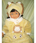 Lion Costume Baby Sleeper 9 months Little Me Snaps Footies Hat New WOT - $12.95