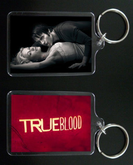 Primary image for TRUE BLOOD keychain keyring BILL and SOOKIE STACKHOUSE #2