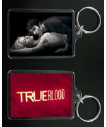 TRUE BLOOD keychain keyring BILL and SOOKIE STACKHOUSE #2 - €7,23 EUR