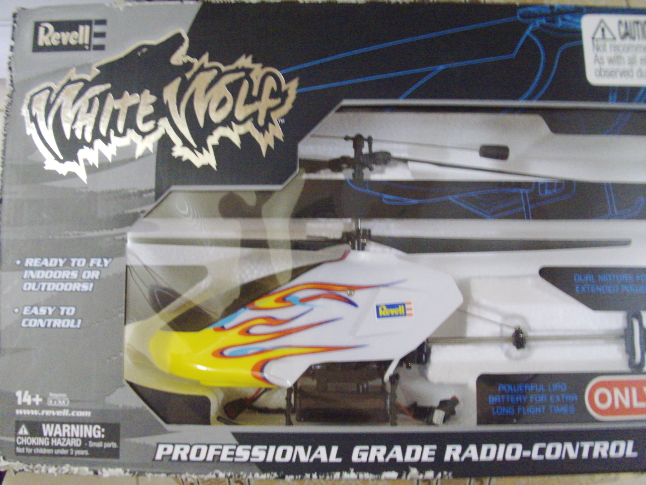 Revell White Wolf Pro Grade Radio-Control Helicopter - New