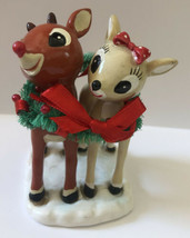 Depart 56 Rudolph Let's Celebrate Together Clarice Figure Decoration  - $16.82