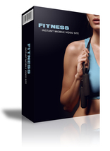 Fitness Instant Mobile Video Site W/Master Resell Rights  - $1.89