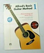 Alfred's Basic Guitar Method 1 : Book and Enhanced CD 1990 - $8.00