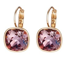 Xuping Boxing Day Luxury Hoop Crystals from Swarovski Fashion Earrings J... - $35.99