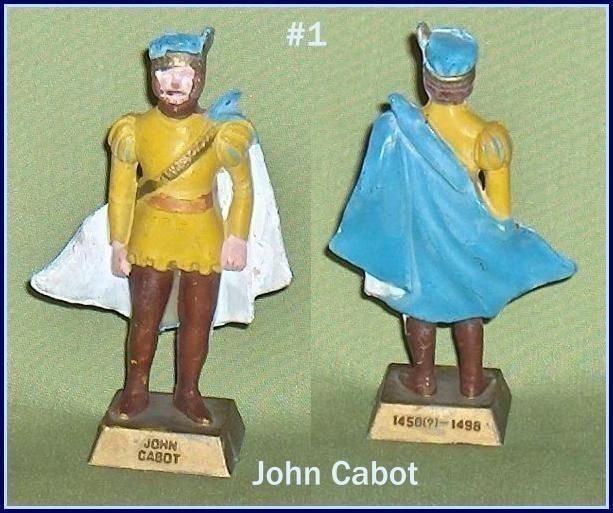 Famous Canadian John Cabot  Canadian Lipton Tea Premium