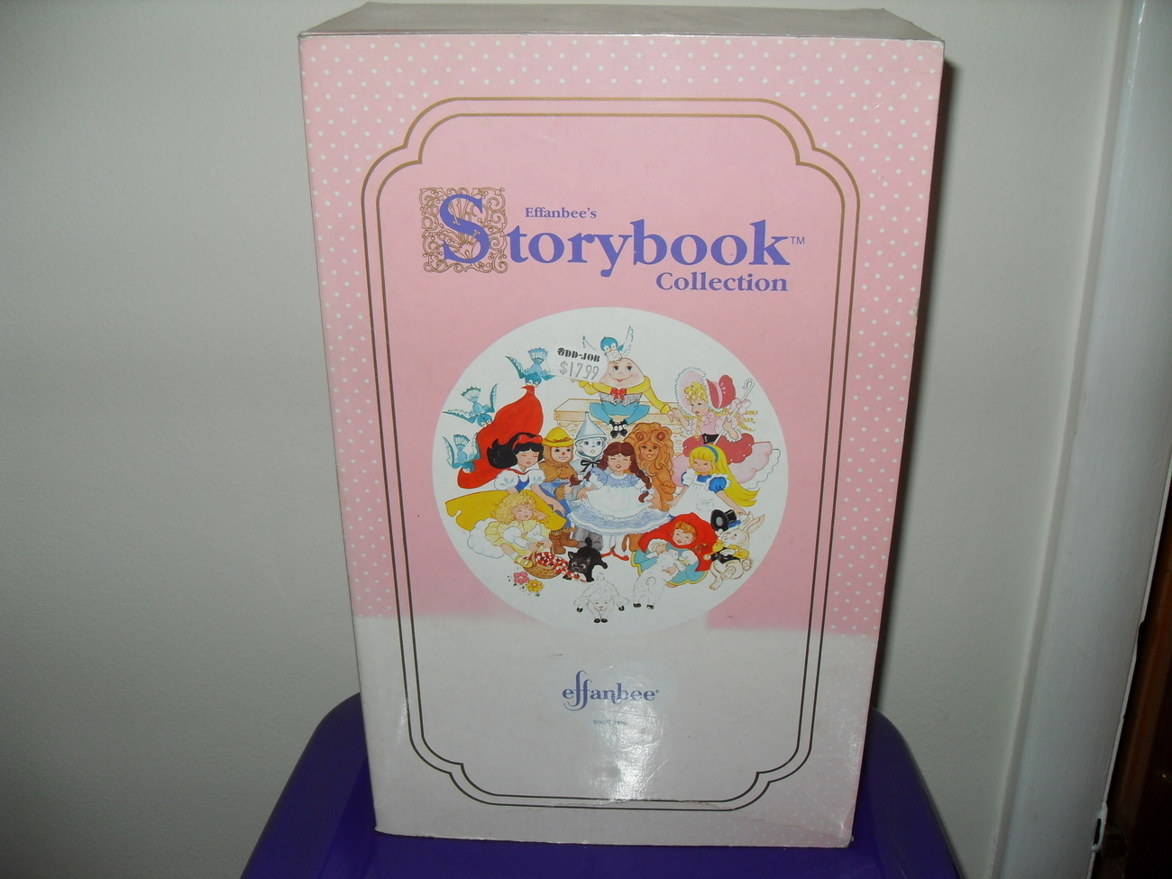 1988 Effanbee Storybook Collection Mother Goose Doll In Box