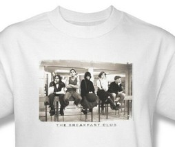 The Breakfast Club T-shirt Free Shipping 80's movie cotton white tee UNI559 image 1