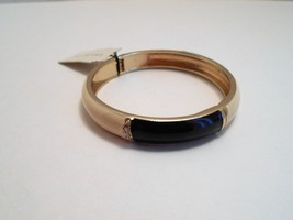 Talbots Navy & Ivory Enamel Rhinestone Bangle Bracelet New With Tags image 7