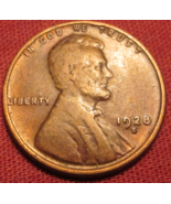 1928 S Lincoln Wheat Cent Penny Ungraded - ₨215.12 INR