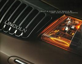 1997 Lincoln CONTINENTAL sales brochure catalog US 97 - $8.00