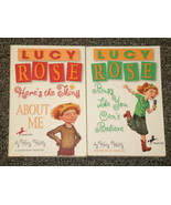 2 Lucy Rose books by Katy Kelly Here's the Thing About Me - $1.50