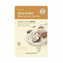 REAL NATURE SHEA BUTTER FACE MASK	 - $9.50