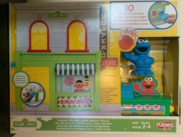 Playskool Friends Cookie Monster Sesame Street Discover 123s Playset ~ NEW - $24.70