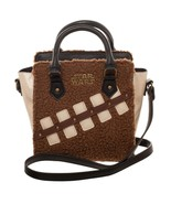 Star Wars Episode 8 The Last Jedi Chewbacca and Porg Mini Brief Handbag ... - $59.95