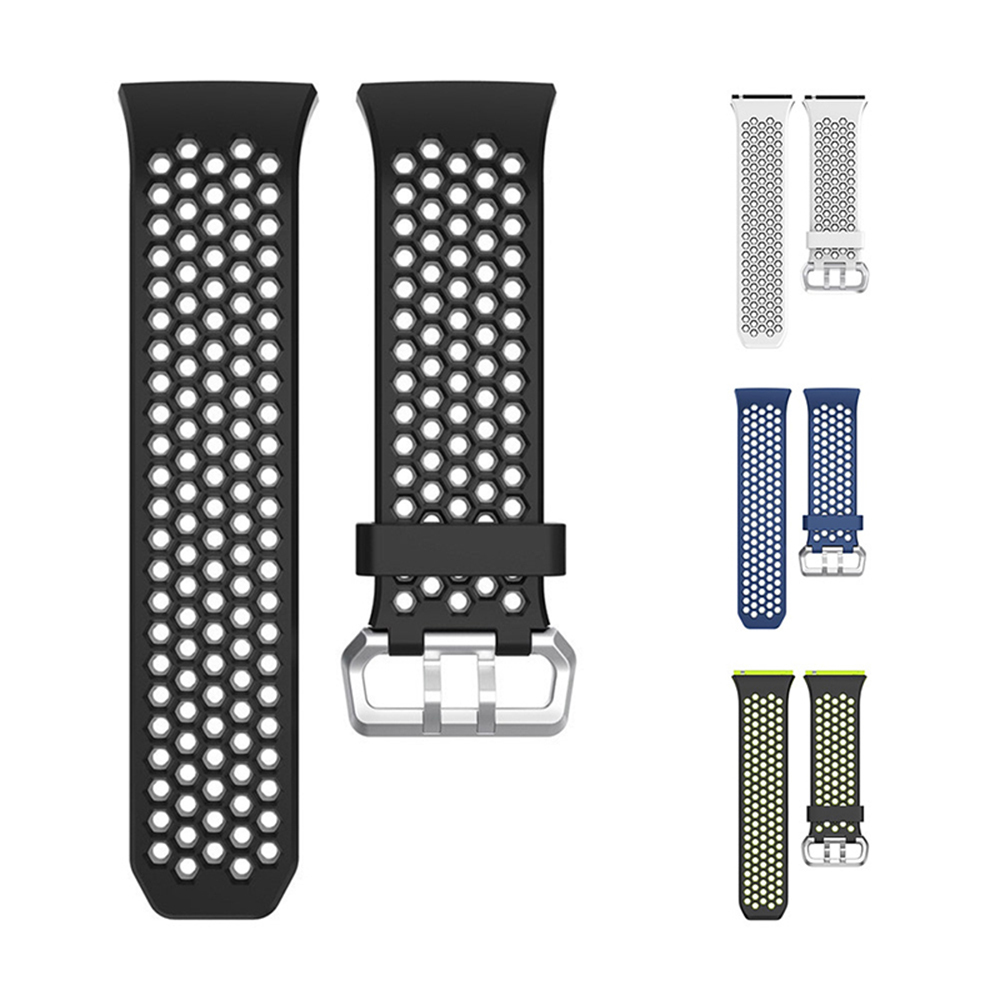 22mm Small Size Watch Band Silicone Strap Replacement for Fitbit Ionic Smart Wat