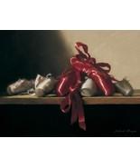 The Red Shoes by Deborah Bays Dance Ballerina Print - $30.00