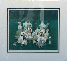 "Jan Balet ""Picnic in 3/4 Times"" - S/N Lithograp... - $300.00"
