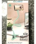 Real Simple Phone Desk Mount Rotating Universal Sea Foam - $12.38