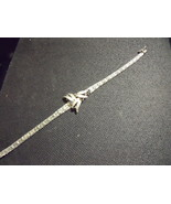 Sapphire and Sterling Silver Bracelet - $125.00