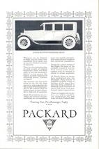 1923 Gorgeous Packard Single Six Sedan vintage print ad - $10.00