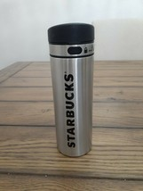Starbucks 16 Oz Silver Stainless Steel Coffee Tumbler with Locking Lid - $21.95