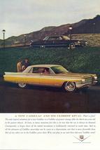 1963 New Cadillac Fleetwood & Closest Rival print ad - $10.00