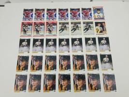 Jaromir Jagr Hockey Cards Lot of 35 1990 1991 Upper Deck Score OPC Premi... - $43.53