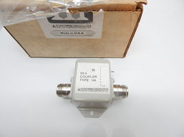 Microwave Filter Company 50 Ohm Coupler Type 108 C108N - $39.95