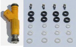Bosch Type 3 Fuel Injector O Rings Pintle Caps   Ev6 Ev3   4 Cyl - $10.49
