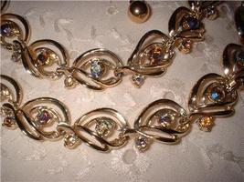 Vintage Jewelry Rhinestone Matching Necklace & B - $25.00