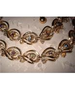 Vintage Jewelry Rhinestone Matching Necklace & B - $25.00