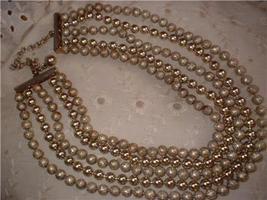 Vintage Antique Jewelry Motif Five Necklace Lot - $25.00